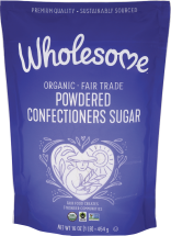 Organic Powdered Sugar product image.