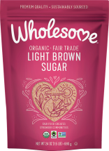 Wholesome Organic Brown Sugar 24 oz., Light or Dark, selected varieties other Wholesome! Sweeteners also on sale product image.