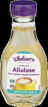 Allulose Zero Calorie Liquid Sweetener product image.