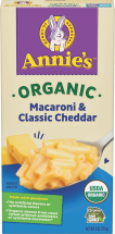 Organic Macaroni & Cheese product image.