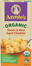 Annie's Homegrown Organic Pasta & Cheese Dinner 6 oz., selected varieties product image.
