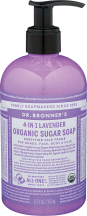 Organic Sugar Soap product image.