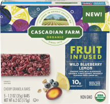 Fruit-Infused Chewy Granola Bars product image.