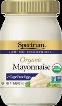 Spectrum Organic Mayonnaise 16 oz. product image.