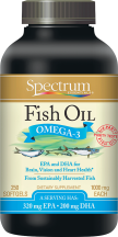 Spectrum Fish Oil 250 ct., selected varieties other Spectrum products also on sale product image.