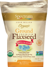Organic Flaxseed Meal product image.