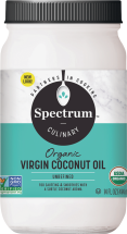 Spectrum Naturals Organic Unrefined Coconut Oil product image.