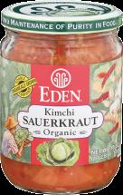 Eden Foods Organic Kimchi Sauerkraut product image.