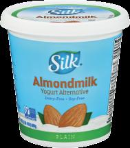 Silk Almond Milk Yogurt 24 oz., selected varieties product image.