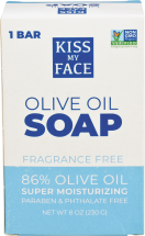 Kiss My Face Olive Oil Bar Soap product image.