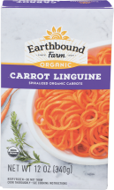 Organic Carrot Linguine product image.