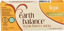 Earth Balance Buttery Sticks 16 oz. other Non-dairy Spreads also on sale product image.