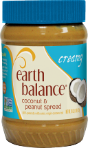 Earth Balance Peanut Butter Spread 16 oz., selected varieties Protein Peanut Butter on sale for $4.99 product image.