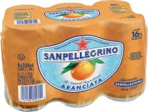 San Pellegrino Sparkling Fruit Beverage 6 pack, selected varieties product image.