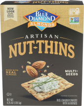 Blue Diamond Artisan Nut Thins product image.