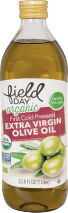 Field Day Organic Extra Virgin Olive Oil 33.8 oz. product image.