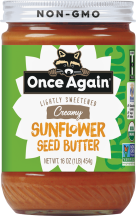 Once Again Organic Sunflower Butter product image.