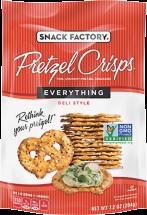 Snack Factory Pretzel Crisps 7.2 oz., selected varieties product image.