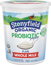 Organic Yogurt product image.