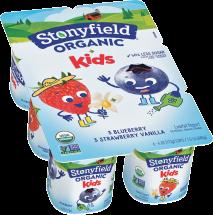 Stonyfield Yokids Organic Yogurt Cups 6 ct., selected varieties product image.