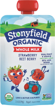 Organic Yogurt Pouch product image.