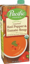Pacific Organic Soup 32 oz., selected varieties product image.