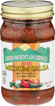 Green Mountain Gringo Salsa 16 oz., selected varieties product image.