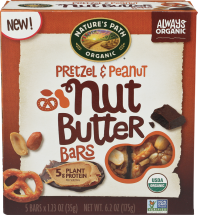 Nature's Path Organic Nut Butter Bar product image.