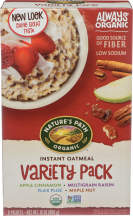 Organic Instant Oatmeal product image.