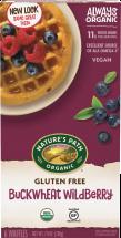 Nature's Path Organic Waffles product image.