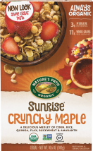 Nature's Path Organic Cereal 10.6-14 oz., selected varieties product image.