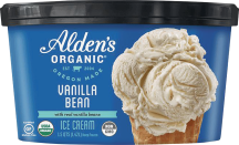 Alden's Organic Ice Cream 48 oz., selected varieties product image.