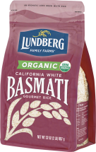 Organic White Basmati Rice product image.