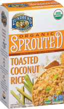Lundberg Family Farms Organic Sprouted Rice Mixes 6 oz., selected varieties product image.