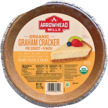 Arrowhead Mills Graham Cracker Crust 6 oz. product image.
