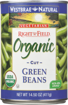 Westbrae Organic Canned Vegetables 14.5-15.25 oz., selected varieties product image.