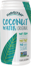 Harvest Bay Canned Coconut Water 11.16 oz. 17.5 oz. Coconut Water $1.99 product image.