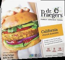 Dr. Praeger's California Veggie Burger product image.