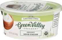 Organic Lactose-Free Sour Cream product image.