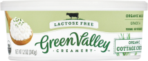 Green Valley Organics Cottage Cheese product image.