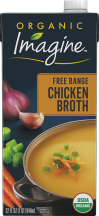 Imagine Organic Broth 32 oz., selected varieties product image.