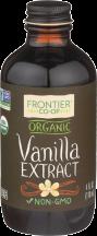 Organic Vanilla Extract product image.