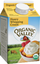Organic Valley Whipping Cream 16 oz. product image.