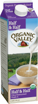 Organic Valley  Half & Half product image.