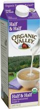 Organic Valley Half & Half product image.