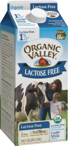 Organic Valley Lactose-Free Milk product image.