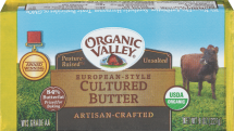 Organic Valley Organic Cultured or Pasture Butter product image.