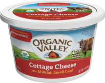 Organic Valley Organic Cottage Cheese product image.