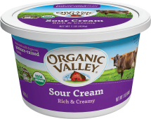 Organic Valley Organic Sour Cream product image.