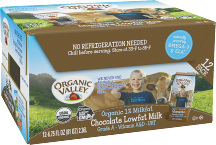 Organic Valley Organic Aseptic Milk 12 ct., selected varieties product image.